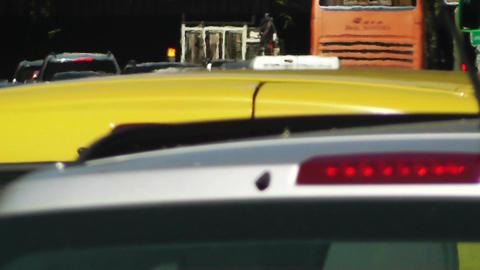 Madrid Cuesta De San Vicente 03 traffic Stock Video Footage