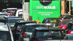 Madrid Cuesta De San Vicente 03 traffic Footage