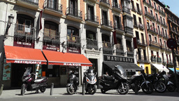 Madrid Downtown 04 Footage