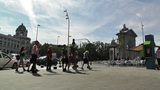 Madrid Glorieta De San Vicente 01 Footage