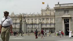 Madrid Palazzo Reale 02 Footage