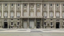 Madrid Palazzo Reale 04 Footage