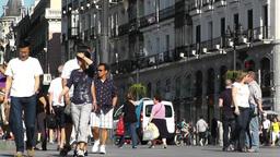 Madrid Plaza De La Puerta Del Sol 03 Footage