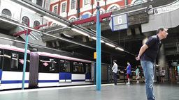 Madrid Principe Pio Metro Station 01 Footage