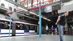 Madrid Principe Pio Metro Station 01 Footage