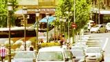 Madrid Puente De Segovia 06 stylized Footage