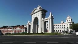 Madrid Puerta De San Vicente 01 Footage