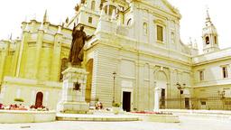 Madrid Santa Maria Almudena 07 stylized Footage