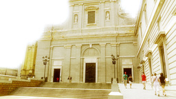 Madrid Santa Maria Almudena 08 stylized Footage