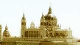 Madrid Santa Maria Almudena 13 stylized Footage