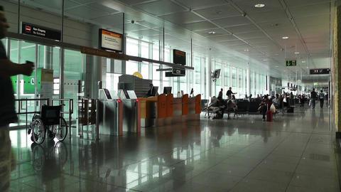 Munich Airport 01 Stock Video Footage