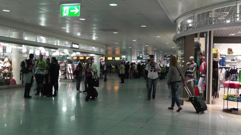 Munich Airport 03 Stock Video Footage