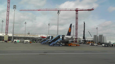 Munich Airport 15 Stock Video Footage