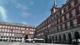 Plaza Mayor De Madrid 02 Footage