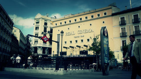 Real Cinema Madrid stylized Footage