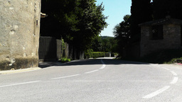 Road among Hills in South Europe Stock Video Footage