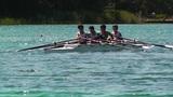 Rowing on Lake 02 Footage