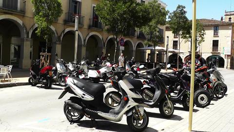 South European Street 01 Spain Stock Video Footage