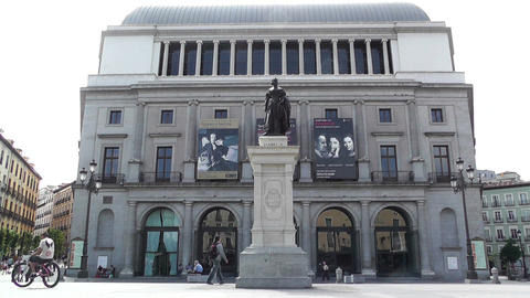 Teatro Real Madrid 01 Footage
