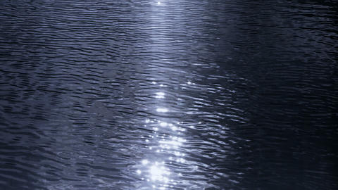 Sparkling lake,material Stock Video Footage