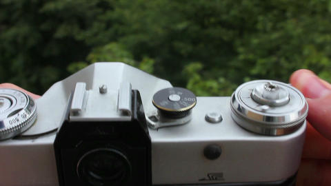 Old camera 4 Stock Video Footage
