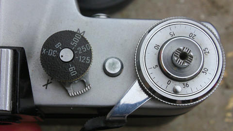 Old camera 6 Stock Video Footage