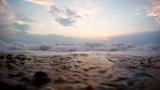 Waves on coast Footage
