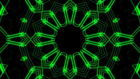 Kaleidoscope Hex 2 Ac 3 HD Stock Video Footage