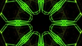 Kaleidoscope Hex 2 Ac 3 HD stock footage