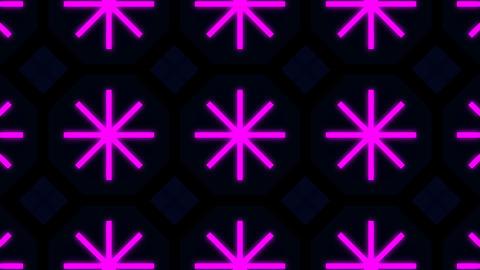 Kaleidoscope Hex 2 Ba 2 HD Stock Video Footage