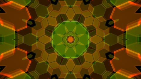 Kaleidoscope Hex 2 Ca 2 HD Stock Video Footage