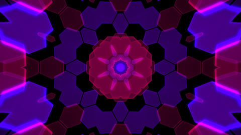 Kaleidoscope Hex 2 Ca 2 HD Animation
