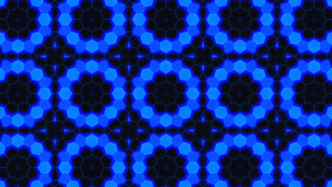 Kaleidoscope Hex 3 Aa 1 F HD Stock Video Footage