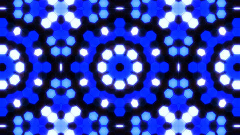 Kaleidoscope Hex 3 Ab 1 F HD Stock Video Footage