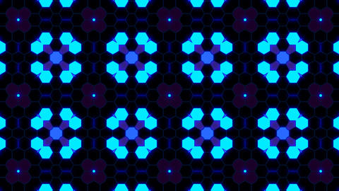 Kaleidoscope Hex 3 Ab 3 HD Animation