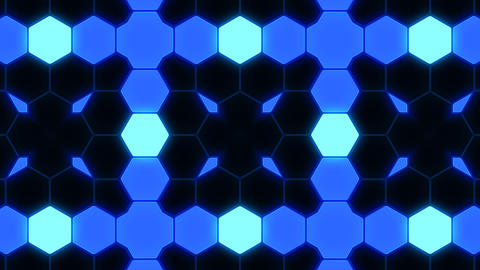 Kaleidoscope Hex 3 Ba 1 HD Stock Video Footage