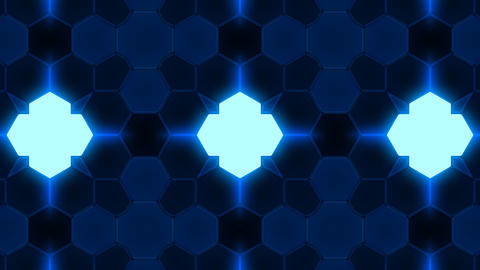 Kaleidoscope Hex 3 Bb 1 HD Stock Video Footage