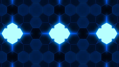Kaleidoscope Hex 3 Bb 1 HD Animation