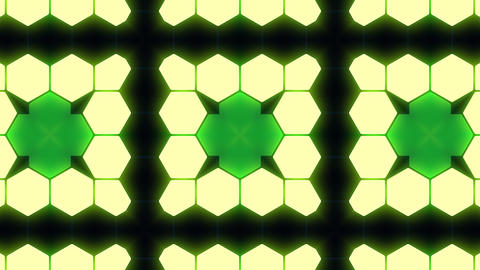 Kaleidoscope Hex 3 Bb 3 HD Stock Video Footage