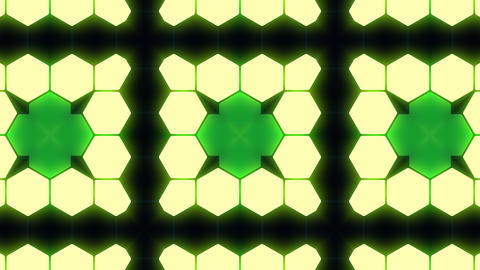 Kaleidoscope Hex 3 Bb 3 HD Animation