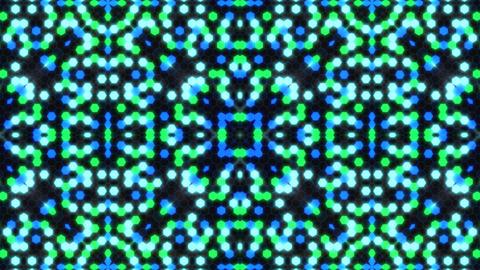 Kaleidoscope Hex 3 Ca 3 F HD Stock Video Footage