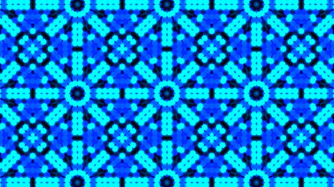 Kaleidoscope Hex 3 Cb 1 HD Stock Video Footage