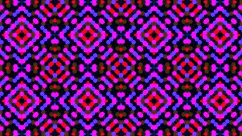 Kaleidoscope Hex 3 Cb 2 HD Stock Video Footage