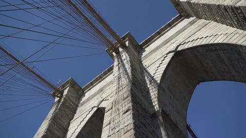 Brooklyn Bridge towers GIF