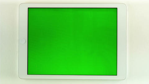 Using Tablet Pc With Green Screen Live Action