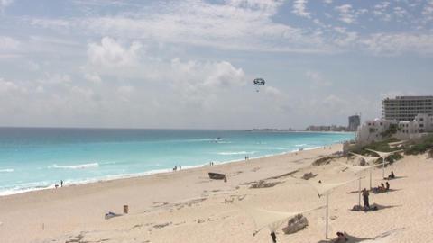 Cancun Beach Footage