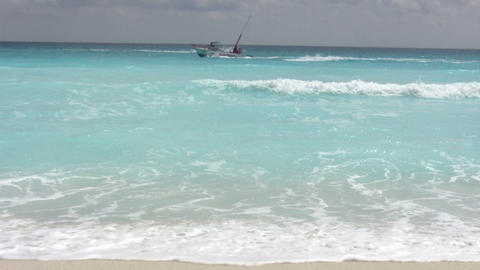 Cancun Beach Footage