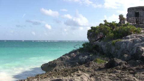 Ancient Ruins of Tulum Footage