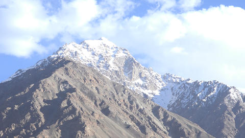 Clouds Over Pamir Mountains, Tajikistan Footage