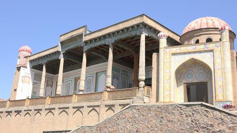 Khwaja Khidr Mosque, Samarkand, Uzbekistan Footage